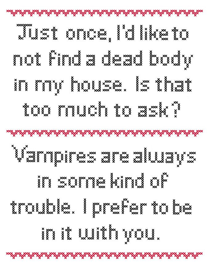 Sookie Stackhouse and Bill Compton quotes!
