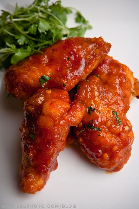 Korean Fried Chicken Wings Recipe — Dishmaps