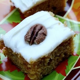 The Sweets Life: Paul's Pumpkin Bars (Pumpkin Bars with Cream Cheese ...