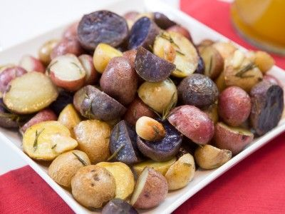 Roasted Baby Potatoes with Rosemary & Garlic - Rev Run's Sunday ...