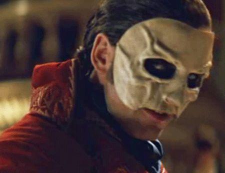 Marks phantom mask Gerard Butler Obituary