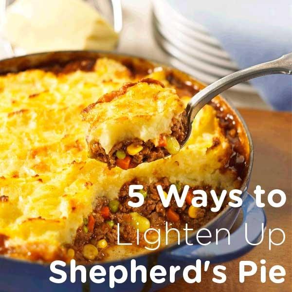 Ways to Lighten Up Shepherd's Pie | Edibles-Food Cooking Meals | Pi ...