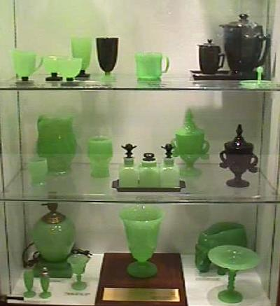 Jade and Black...from the Fenton Museum