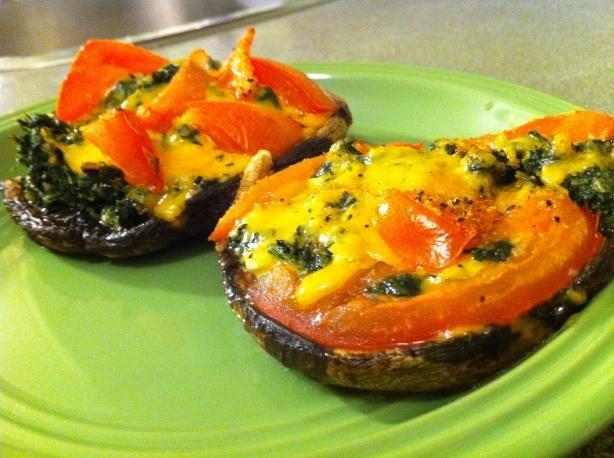 Portobello Mushroom Pizzettas Recipes — Dishmaps
