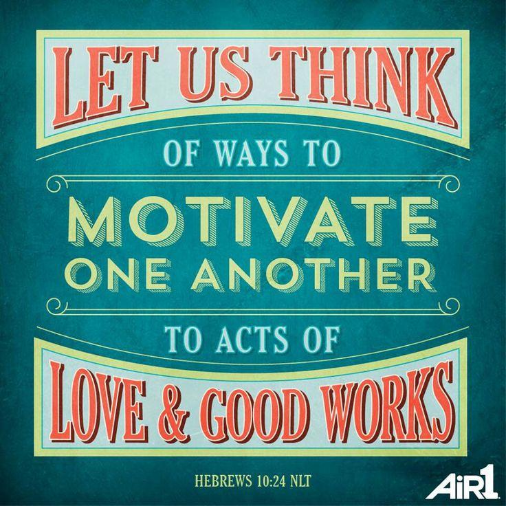 Hebrews 10:24   Faith stuff   Pinterest