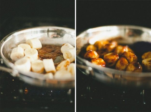 Butterscotch Pudding with Roasted Banana Whipped Cream // not without ...