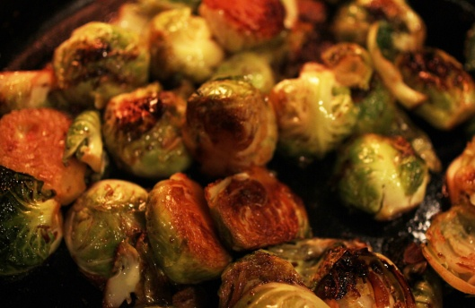 Savory & Sweet Caramelized Sprouts « { The crave list }