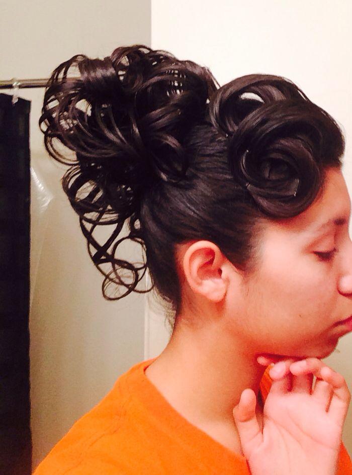 Apostolic / Pentecostal updo! | Hairstyles | Pinterest