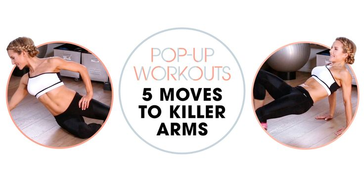 Do These 5 Moves for Perfectly Toned Arms at Your Wedding
