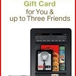 Win Kindle Fires and Amazon Gift Cards!