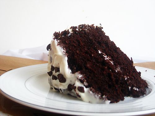 Double Chocolate Layer Cake | Cakes | Pinterest