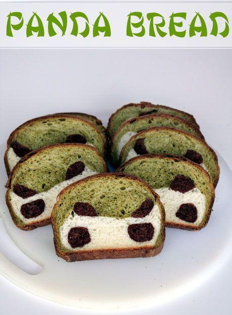 Panda Bread | Epic Nourishment | Pinterest