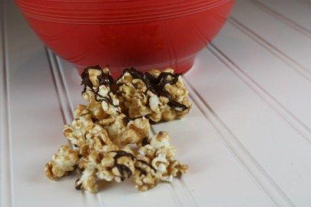 Chocolate Caramel Corn | Food - Popcorn | Pinterest