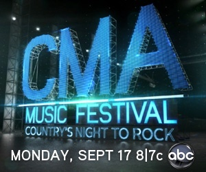 CMA Music Festival: Countrys Night to Rock airs on Sept 17 at 8|7c on ABC! See the full lineup now!