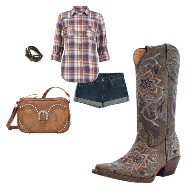Unique Cowgirl Outfit  Polyvore