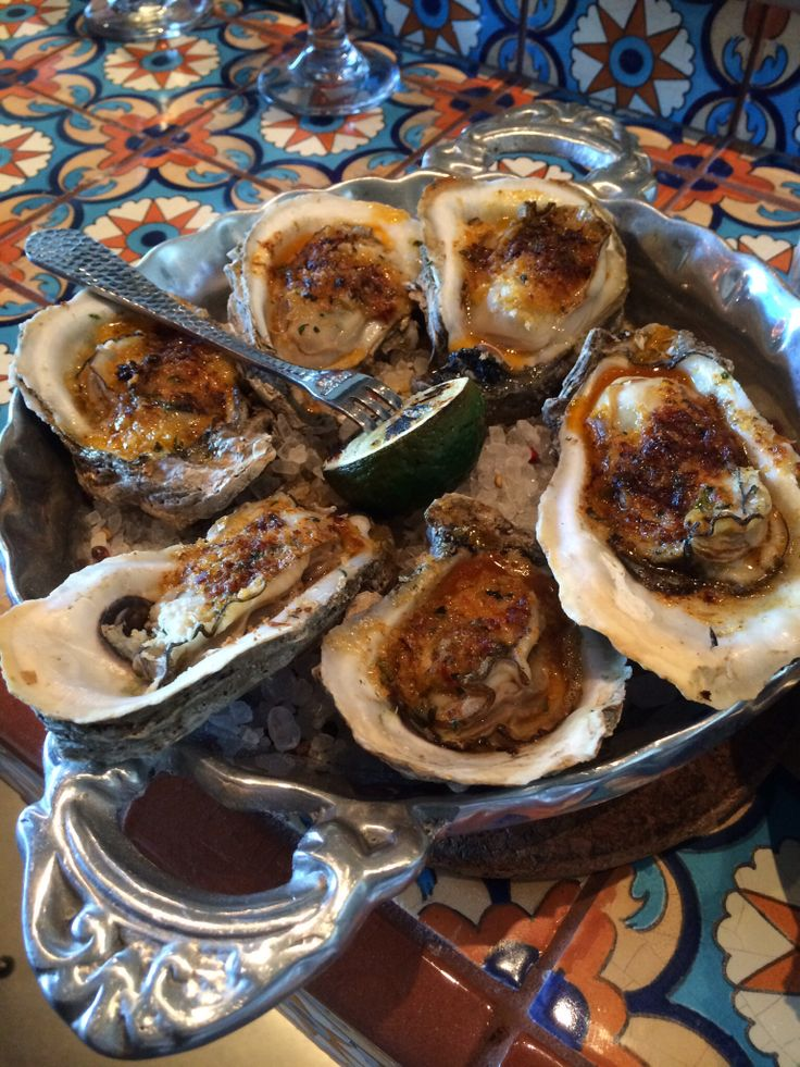 Wood Roasted Oysters Caracol | Food | Pinterest