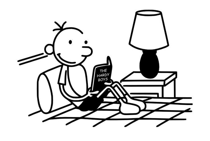 Greg Heffley Diary Of A Wimpy Kid Reads The Hardy Boys