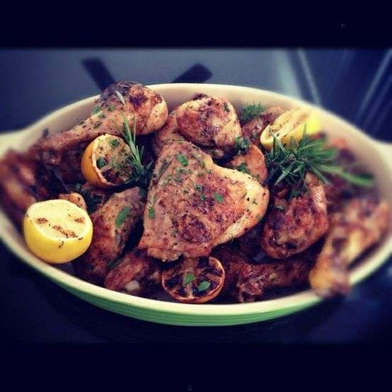 Lemon & Rosemary Grilled Chicken | Chicken, Chicken and Yes...More Ch ...