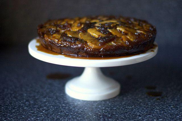 Upside-down Apple Gingerbread Cake | Food, Glorious Food.... | Pinter ...