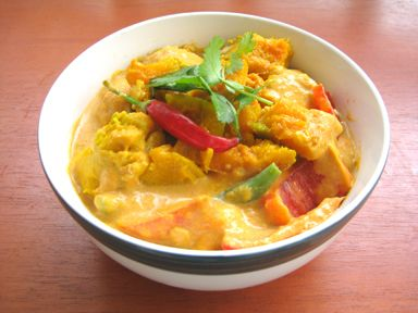 Kabocha Squash Thai Red Curry | Comer es placer | Pinterest