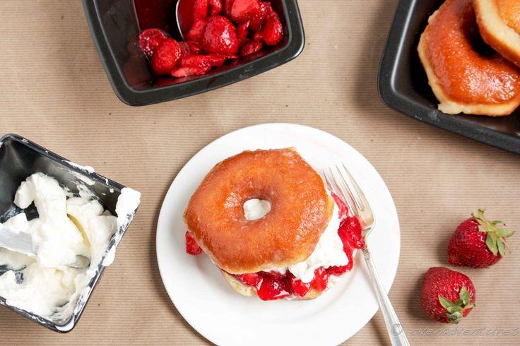Donut Strawberry Shortcake | Crave | Pinterest