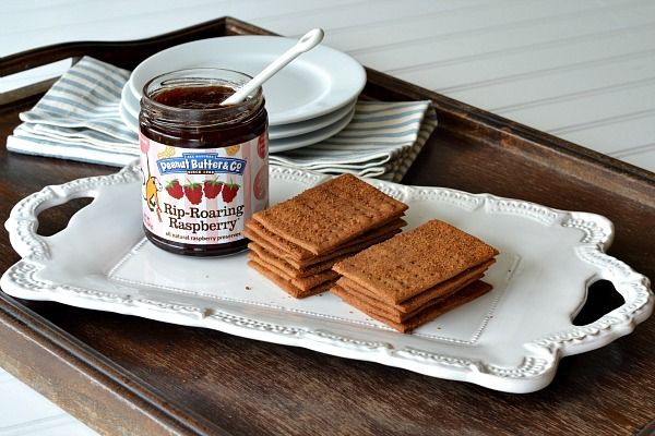 Cinnamon-Brown Sugar Peanut Butter Graham Crackers | Old Fashioned ...