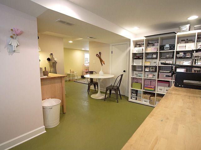basement office offices desks pinterest