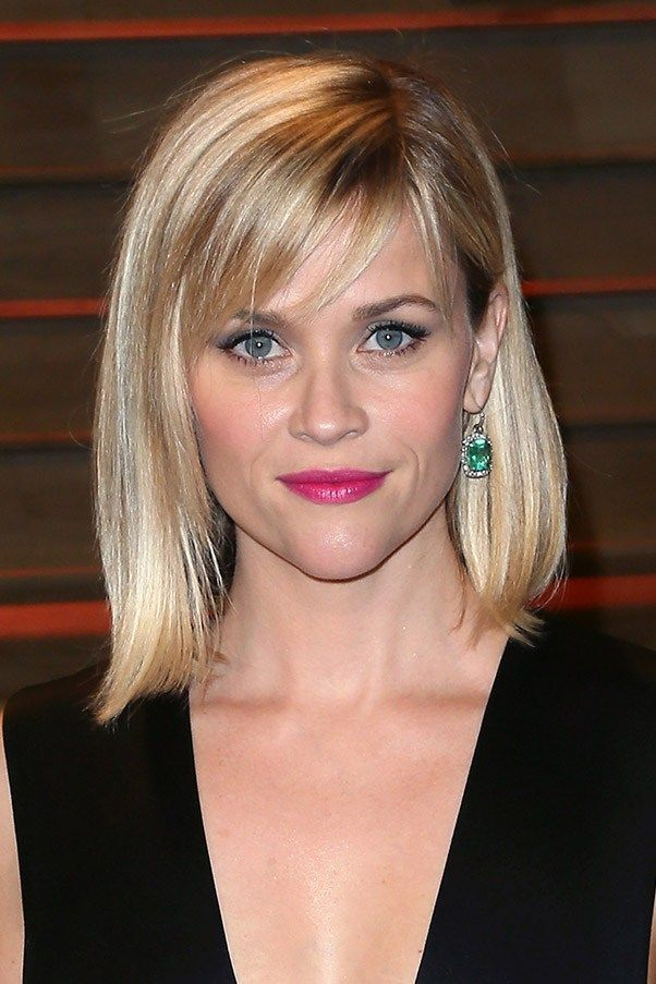 Reese Witherspoon - long bob with fringe | Hair ideas | Pinterest ... Reese Witherspoon