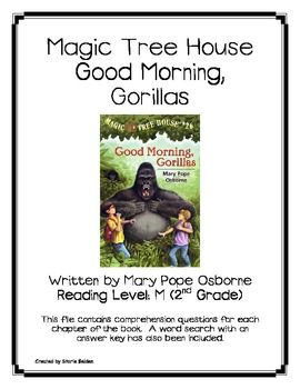 magic tree house book report questions Dinosaurs before dark is the first magic tree house book, written by mary pope  osborne stw has a collection of reading comprehension questions, project.