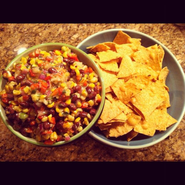 Corn and avocado salsa!!   Recipes   Pinterest