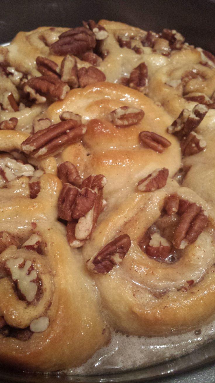 sticky pecan mini buns recipes dishmaps sticky pecan mini buns the ...