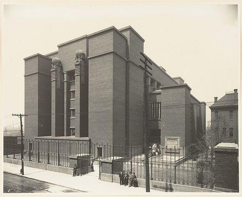 Larkin Building Frank Lloyd Wright Pin by Pamela Saunders...