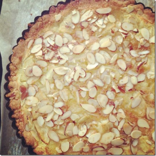 Apple and Almond Custard Tart | Cupcakes, Cakes & Other Sweet Things ...