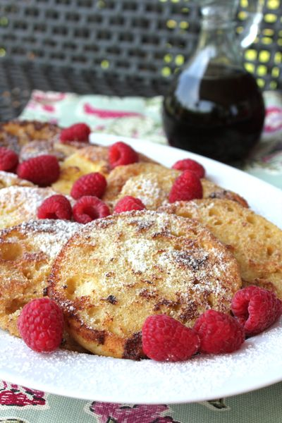 English Muffin French Toast Recipe   Foods   Pinterest