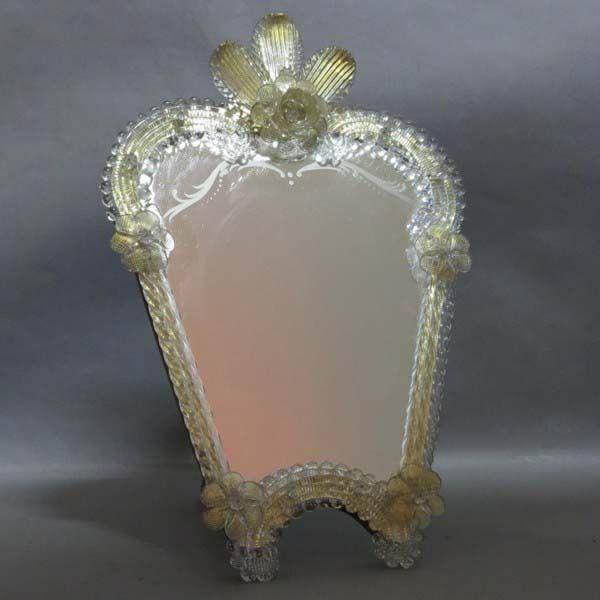 Glass mirror italy 1950 1955 mirrors spiegel espejos