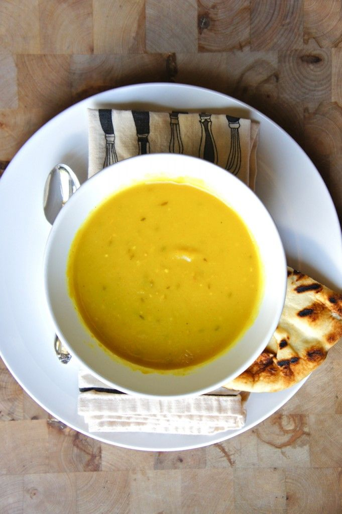 Parsnip Leek Soup & Curry with Cumin and Mustard Seeds | carrot bowl