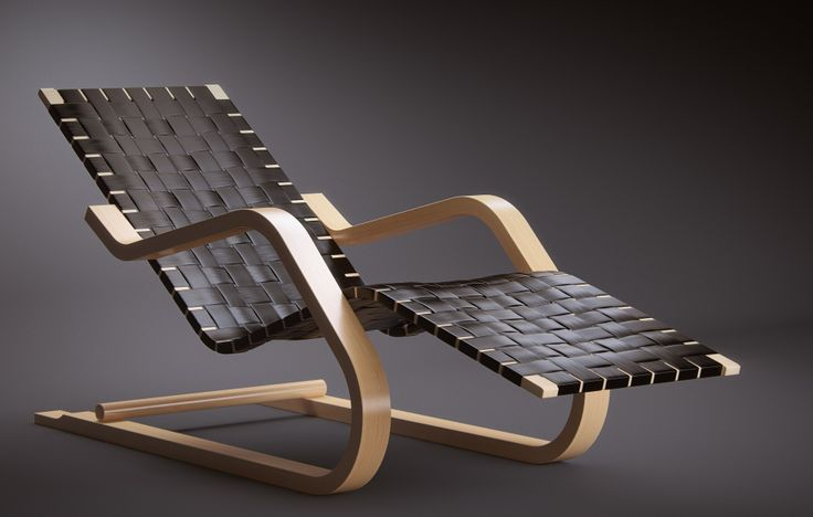Pin by 11 on furnitures pinterest for Alvar aalto chaise longue