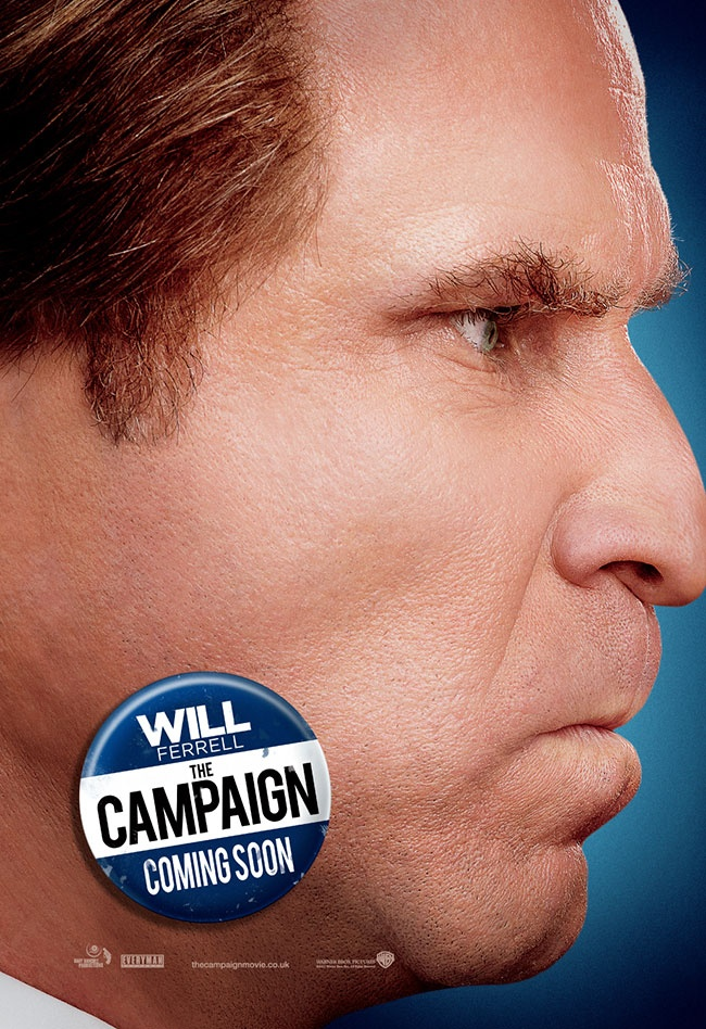 Will Ferrell as Cam Brady in The Campaign. May the best loser win!