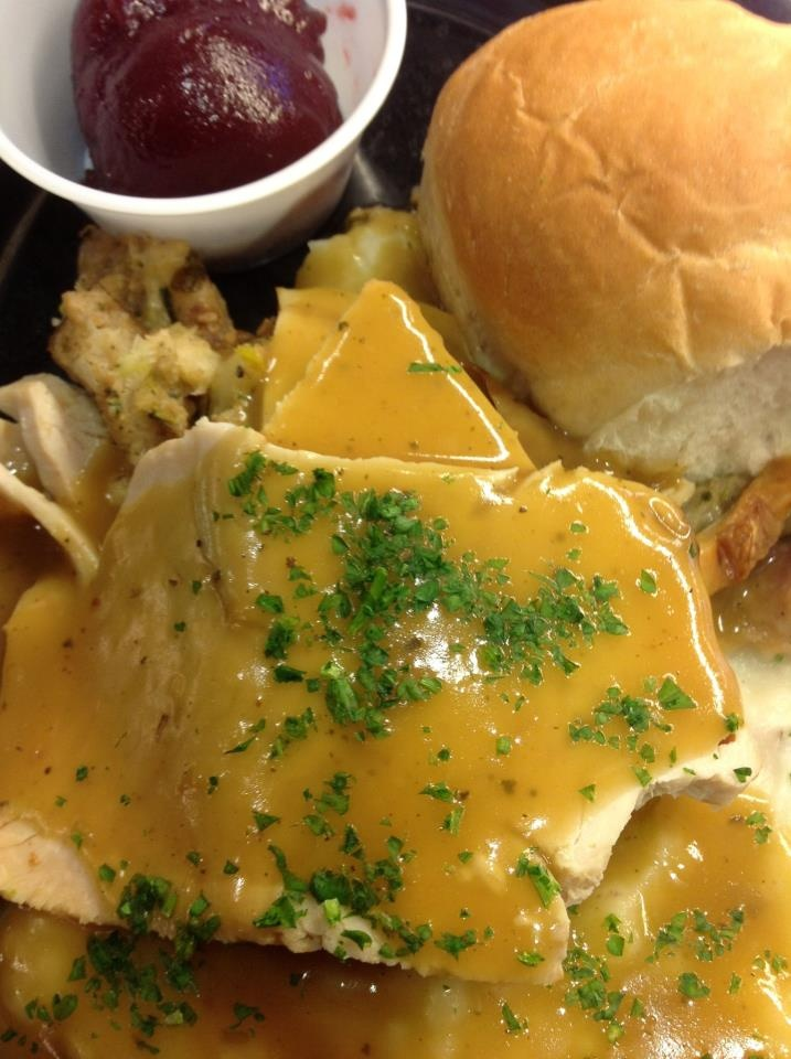 Old fashion hot turkey dinner recipes pinterest