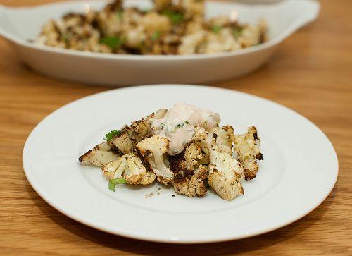 Za-atar spiced roasted cauliflower from the blog Sassy Radish, adapted ...