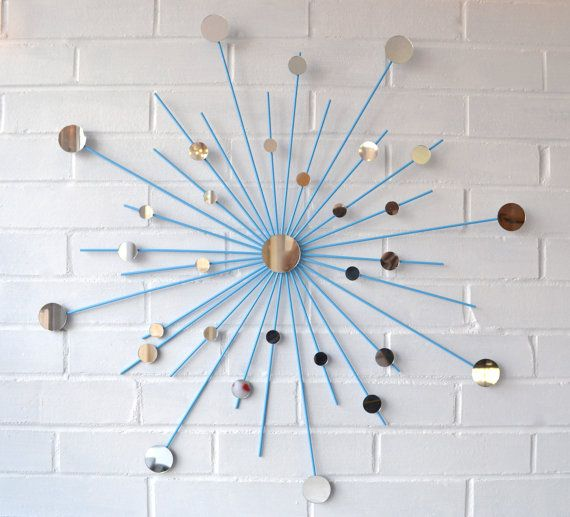 Retro Starburst Wall Decor : Starburst wall decor home special touches