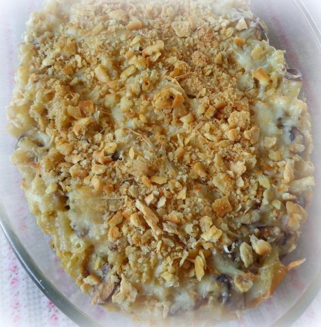 Herbed Mushroom Macaroni and Cheese | The English Kitchen