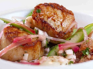 Scallops and ramps | Philly Food | Pinterest