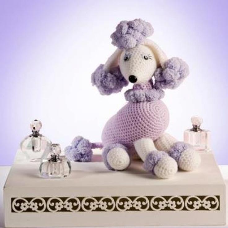 Free Amigurumi Poodle Pattern : Poodle free pattern spanish crochet toys and amigurumi