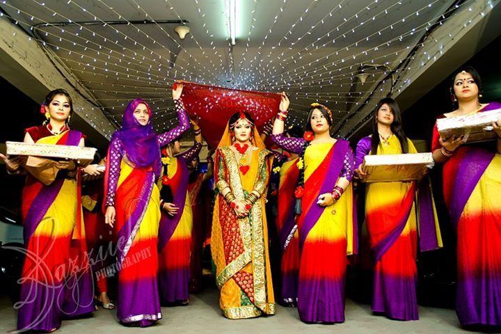 Bangladeshi Bride Holud