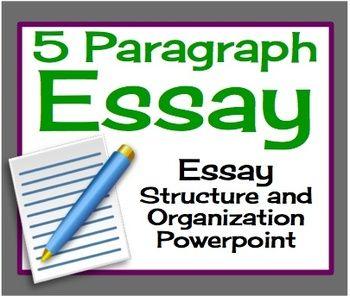 5 paragraph essay powerpoints