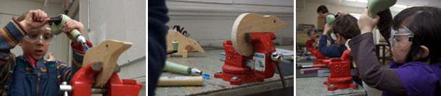 Very Beginning Woodworking class | Eliot School (Boston, MA)