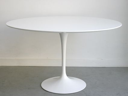 Table tulipe - Eero SAARINEN - Knoll, 1956 - 120 cm ø - 1800 CHF