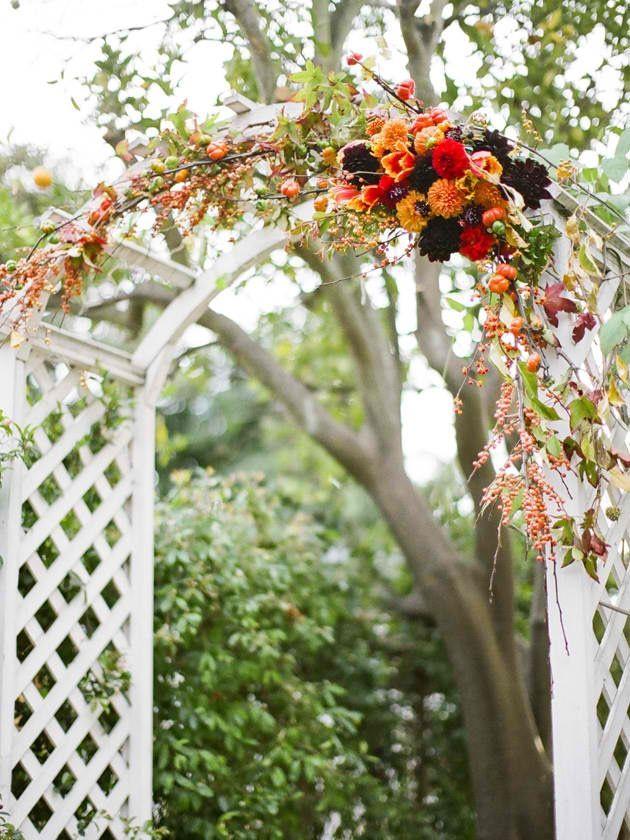 Wedding trellis wedding trellis39 and other ideas pinterest for Decorating a trellis for a wedding
