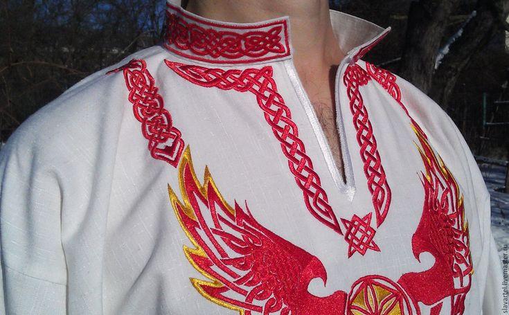 Вышивка для славянской рубахи 59
